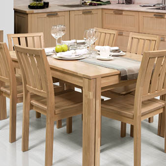 Modern style dining group